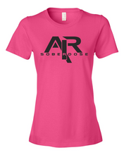 AIRSoberDose Black Logo Ladies' Anvil T-Shirt