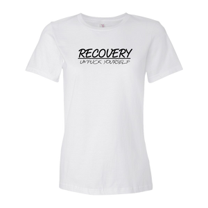 Recovery UNFK Yourself Ladies' Anvil T-shirt