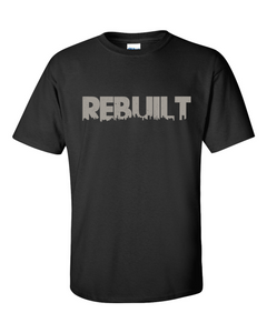REBUILT Grey Men's Gildan T-shirt