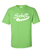 SoberAF White Logo Men's Gildan T-shirt