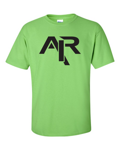 AIR Plain Black Logo Men's Gildan T-shirt