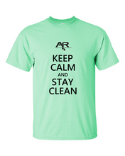 Keep Calm Stay Clean Men's Gildan T-shirt