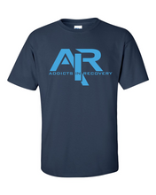 AIR Blue Logo Men's Gildan T-shirt