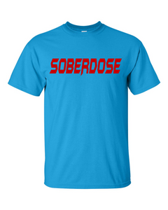 SoberDose Red Logo Men's Gildan T-Shirt