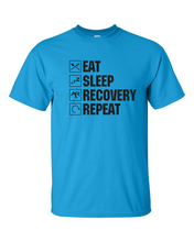 Eat Sleep Recovery Repeat Men's Gildan T-shirt