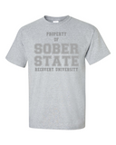 Property of Sober State Men's Gildan T-Shirt