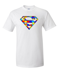 Autism Superman Men's American Apparel T-shirt