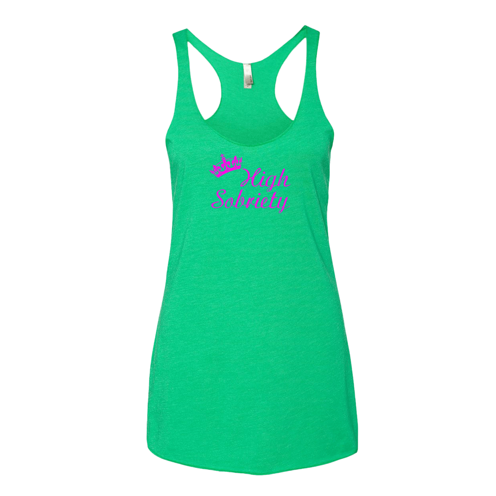 High Sobriety Ladies' Next Level Tank