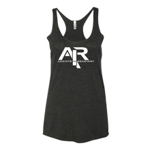 AIR White Logo Ladies' Next Level Tank