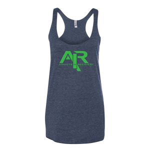 AIR Green Logo Ladies' Next Level Tank