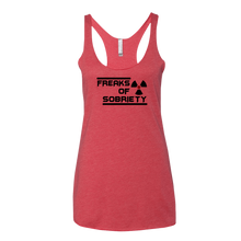 Freaks of Sobriety Ladies' Next Level Tank