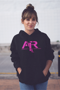 AIR Hot Pink Logo Gildan Hoodie - FREE SHIPPING ON THIS ITEM