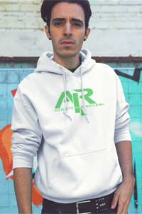 AIR Green Logo Gildan Hoodie - FREE SHIPPING ON THIS ITEM