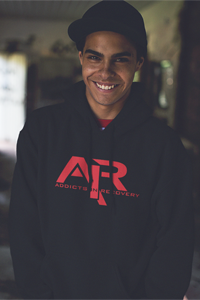 AIR Red Logo Gildan Hoodie - FREE SHIPPING ON THIS ITEM