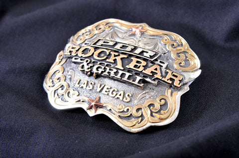 PBR Rockbar Star Belt Buckle