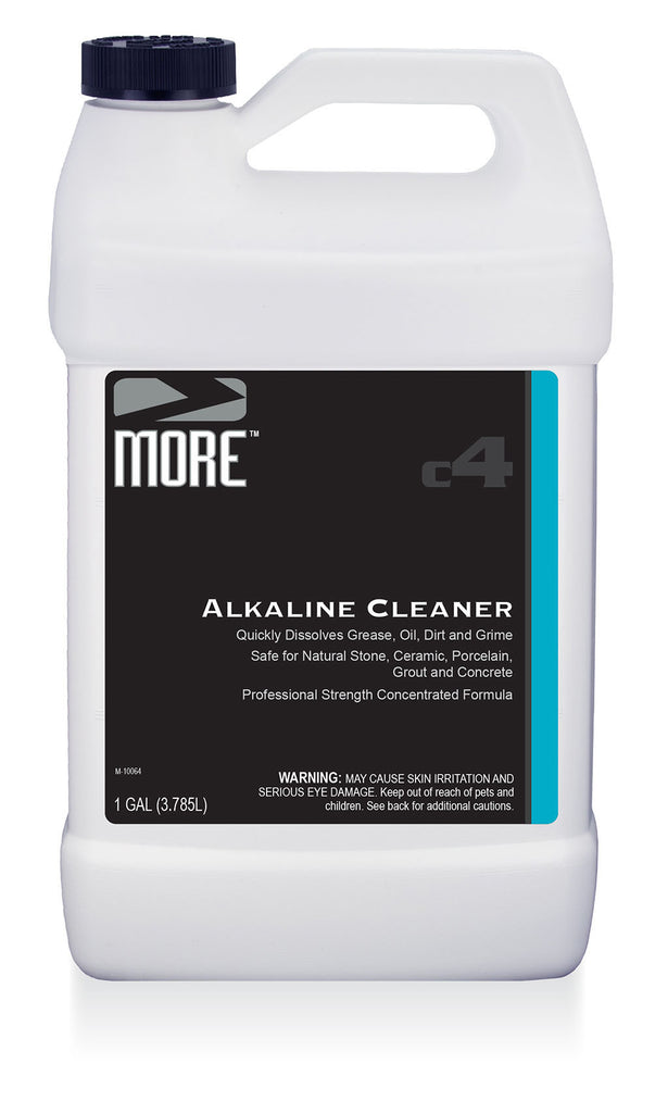 More Alkaline Cleaner More Surface Care