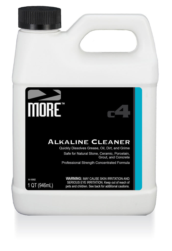 More tm alkaline cleaner more surface care for Alkaline concrete cleaner