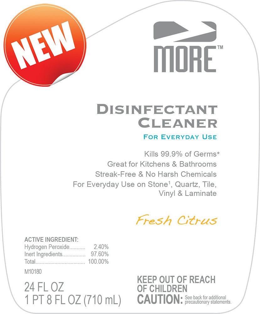 MORE™ Disinfectant Cleaner