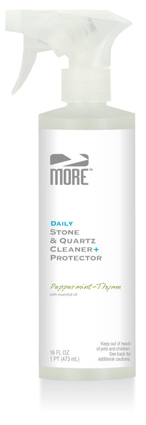 MORE™ Stone & Quartz Cleaner + Protector