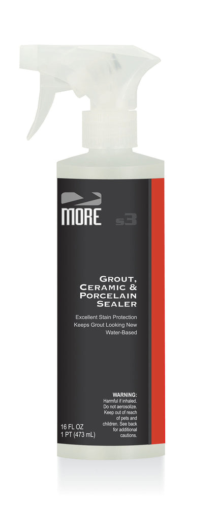 Grout, Ceramic & Porcelain Sealer