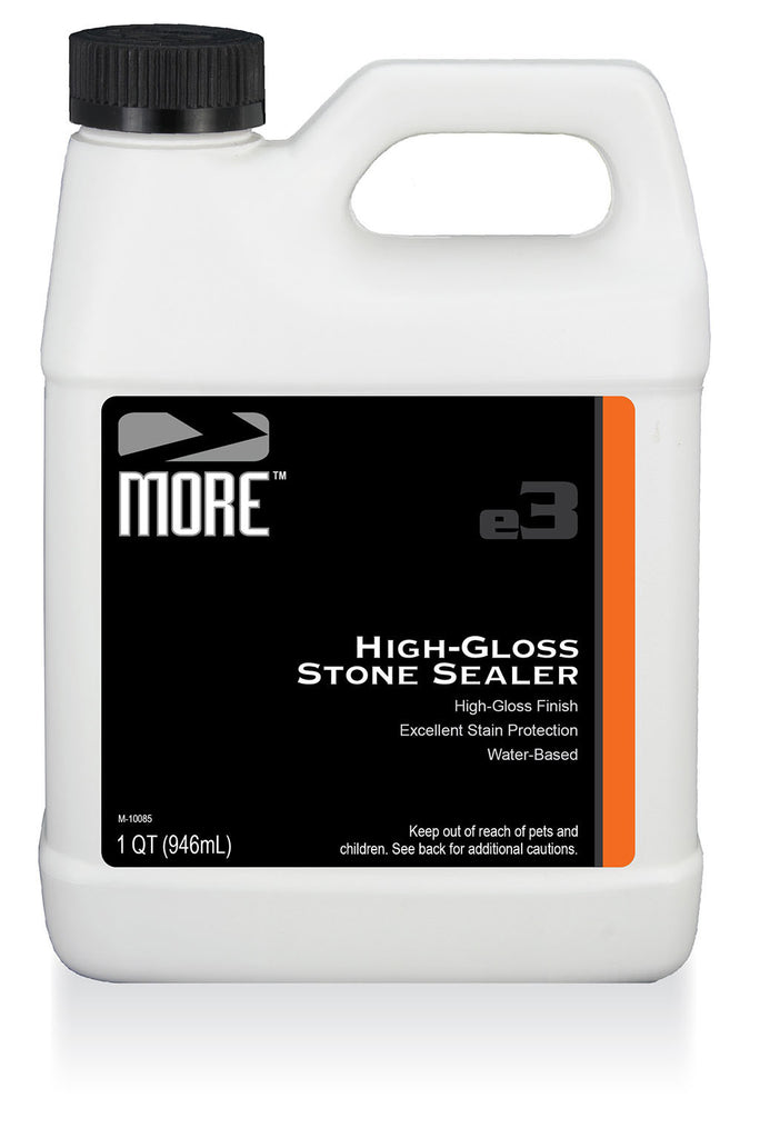 MORE™ High-Gloss Stone Sealer - MORE Surface Care