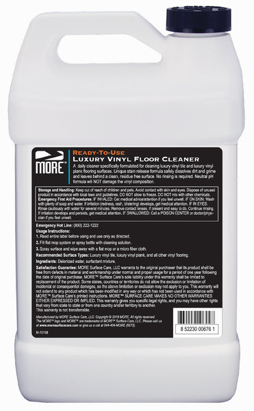 MORE™ Luxury Vinyl Floor Cleaner - MORE Surface Care