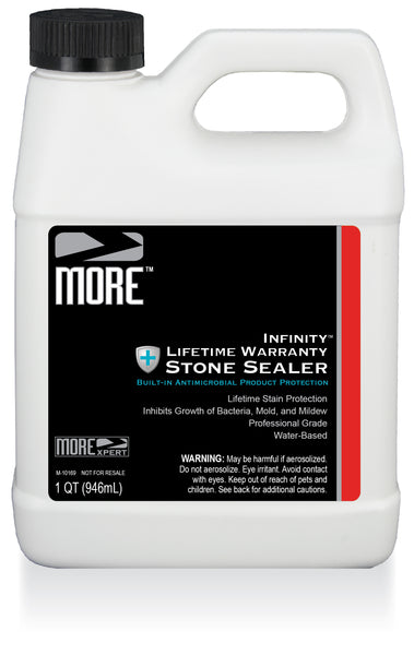 MORE™ Infinity™ Lifetime Warranty Stone Sealer