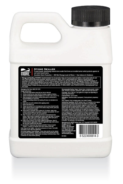 MORE™ Stone Sealer - MORE Surface Care