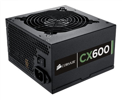 Corsair CX600 600W Power Supply configured for Antminer S3/S3+ miners