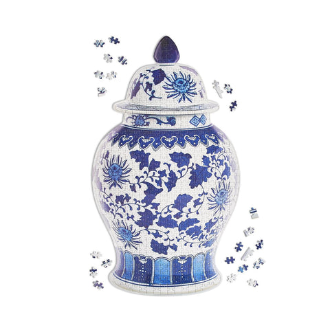 Blue and White Ginger Jar 500 Piece Puzzle