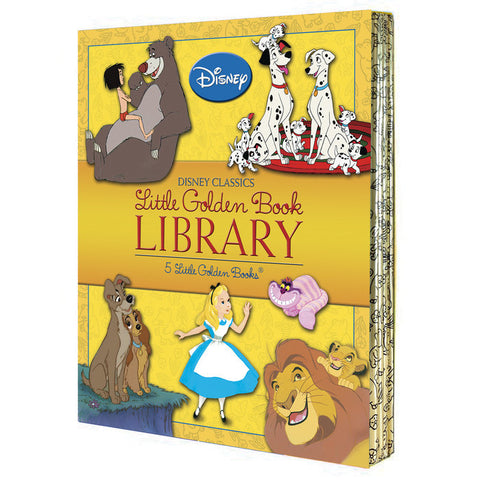 "Disney Classics ""Little Golden Book Library"""