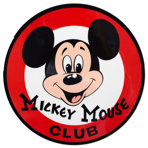 "Vinyl - Mickey Mouse Club 10"" Picture Disc"