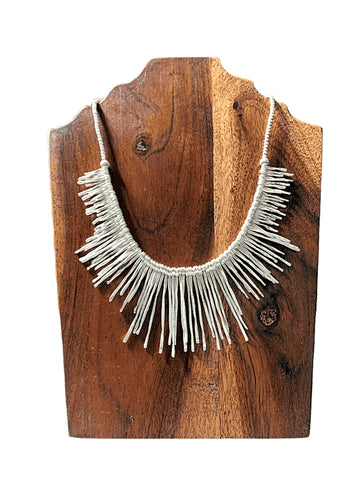 Icicle Sterling Silver Necklace