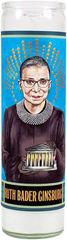Ruth Bader Ginsburg Secular Saints Candle