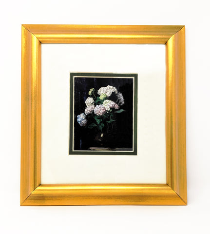 """Hydrangeas"", Framed Print Copy"