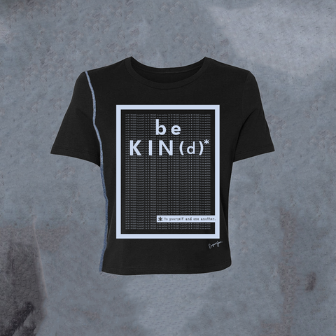 WOMENS <br> 'Be Kind' Matrix Inside-Out Tee