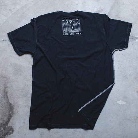 MENS <br> 'Be Kind' Block Inside-Out Tee