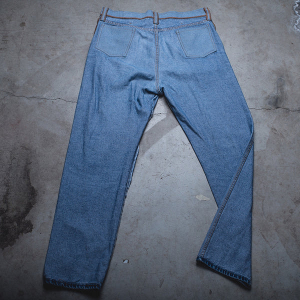 025 - Inside-Out Denim (Mens / Size 36 x 34 / Straight Leg)