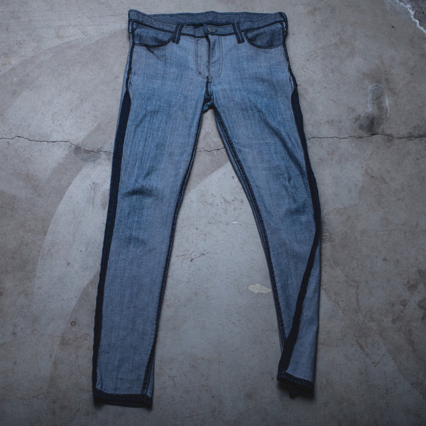 008 - Inside-Out Denim (Womens / Size 31 / Skinny Jeans)