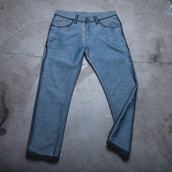 023 - Inside-Out Denim (Mens / Size 34 x 30 / Slim-Straight Leg)