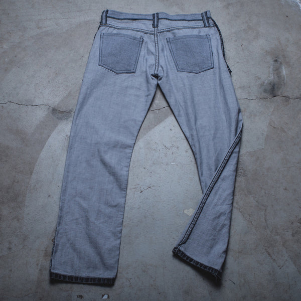 018 - Inside-Out Denim (Mens / Size 28 x 28 / Slim-Straight Leg)