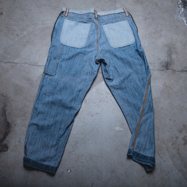020 - Inside-Out Denim (Mens / Size 34 x 30 / Relaxed Straight Leg)