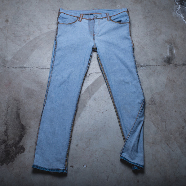013 - Inside-Out Denim (Womens / Size 38 / Slim)
