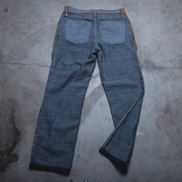 016 - Inside-Out Denim (Mens / Size 27 x 30 / Relaxed Straight)