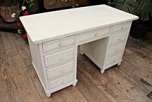 BEAUTIFUL! OLD PINE/WHITE PAINTED DESK/DRESSING TABLE 💕 - oldpineshop.co.uk
