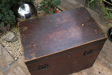 😀  WOW! QUALITY OLD PINE STORAGE BOX/CHEST/SHIPPING TRUNK 😍 - oldpineshop.co.uk