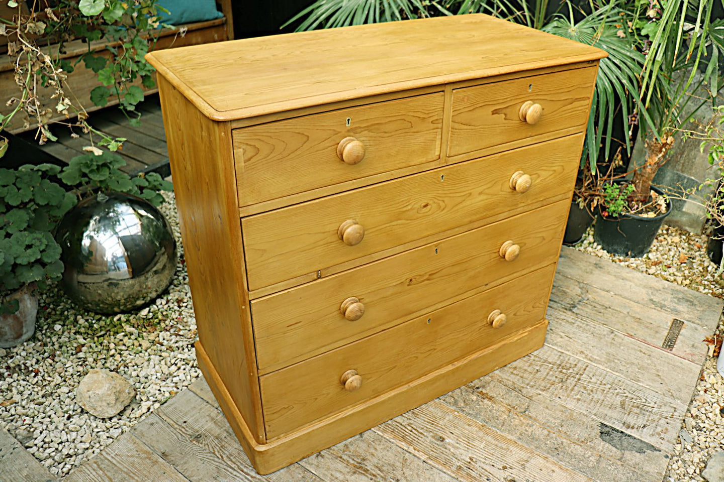 ❤️  QUALITY! LARGE OLD (VICTORIAN) PINE CHEST OF DRAWERS/ SIDEBOARD  ❤️ - oldpineshop.co.uk