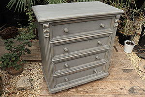 OLD STYLE PINE/ GREY PAINTED CHEST DRAWERS/ SIDEBOARD ❤️ - oldpineshop.co.uk