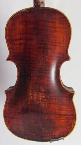 Violin - 4/4 Full Size Joh. Bapt. Schweitzer/Amati Copy, Circa Late 1800s - USED (E-5)