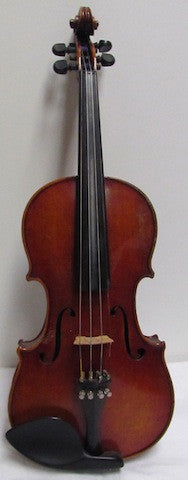 Violin - 4/4 Full Size Friedrich August Heberlein, Strad Copy, Circa 1905 - USED (B2)